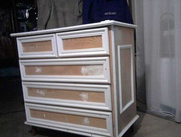Декупаж мебели: изменяем внешний вид фото и видео МК