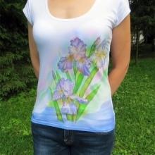 Вышивка на футболках: разные варианты декора (фото)