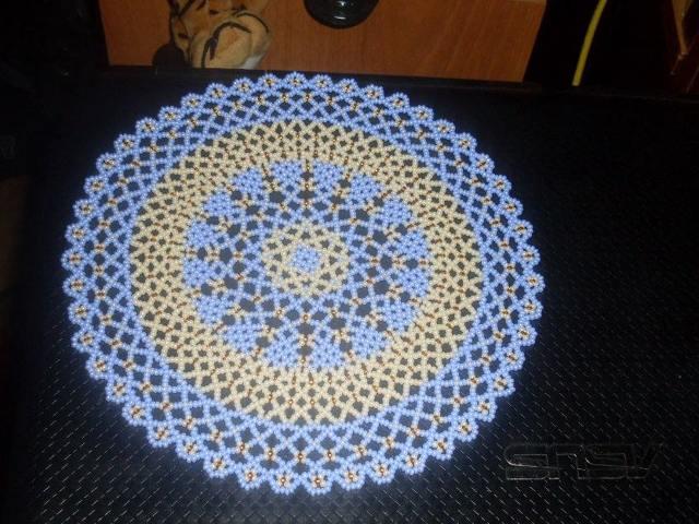 Салфетки из бисера в схемах плетения и фото мастер-классах