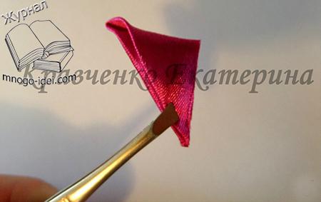 Мастер-класс по изготовлению тюльпана в технике канзаши