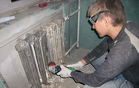 Декупаж батареи отопления своими руками в мастер-классе