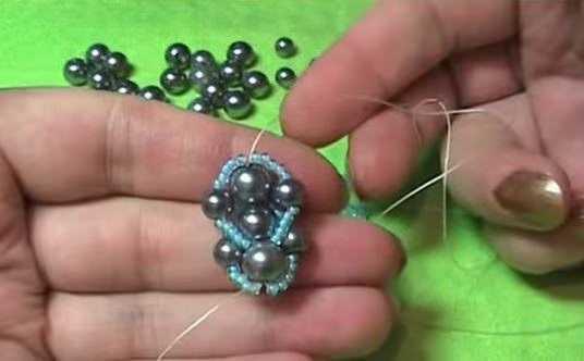 Американский жгут из бисера и плетение по видео мастер-классам плоского и спирального браслета