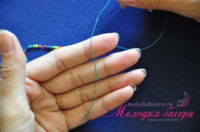 Жгут из бисера: изучаем плетение оригинального украшения