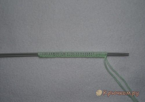 Жаккардовые узоры спицами: вязание по схеме