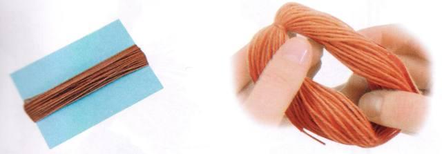Поделки из ниток мулине и шерсти своими руками (фото)
