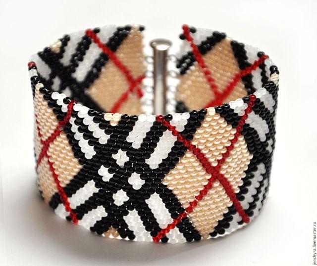 Стеклярусы и схемы для плетения красивых изделий