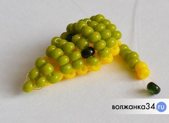 Крокодил из бисера по схеме с пошаговым описанием и фото-видео сопровождением