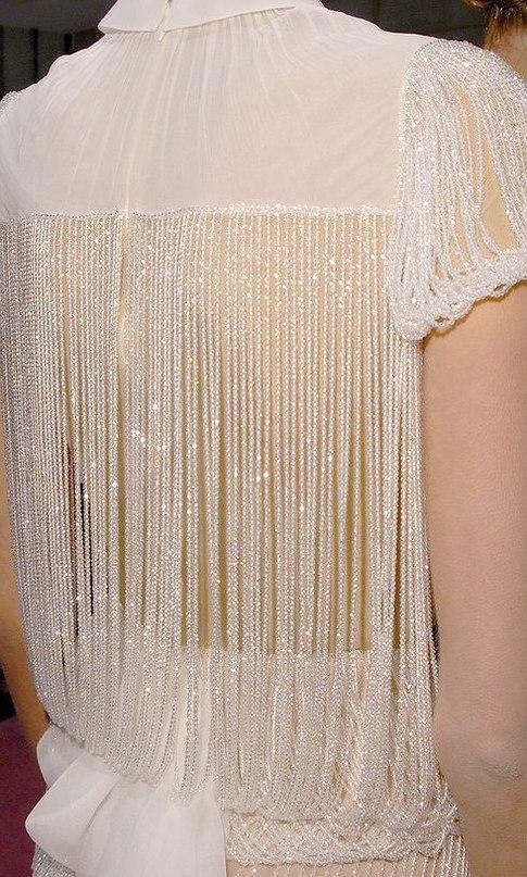Пошаговые уроки вышивки бисером и нитками на платье