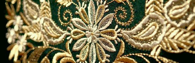 Объемная вышивка разными техниками виды и способы выполнения