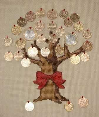Вышивка денежного дерева по схеме и обзор готовыш наборов