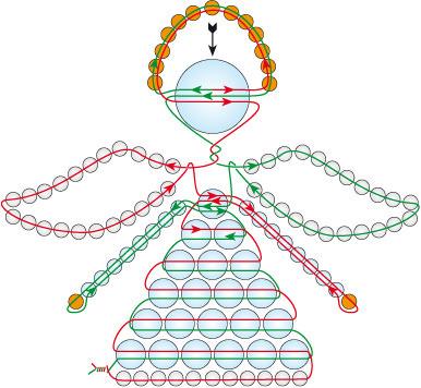 Ангел из бисера схема плетения крылатых поделок (фото)