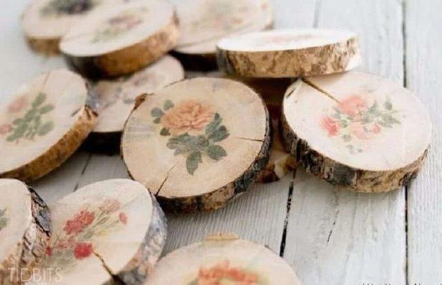 Декупаж на дереве и других заготовках (фото)