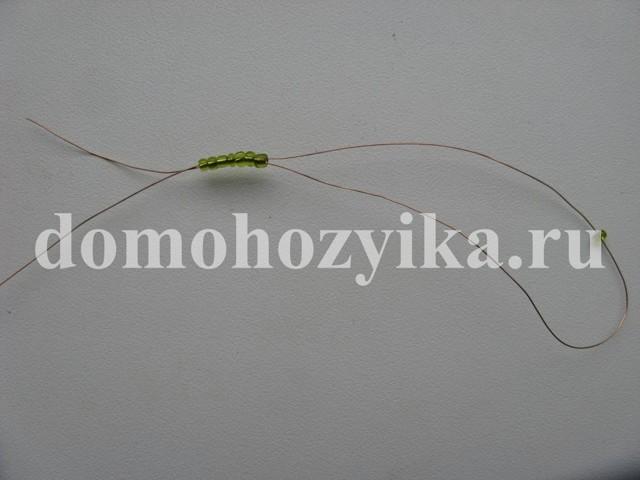 Сосна из бисера: мастер-класс плетения (фото)