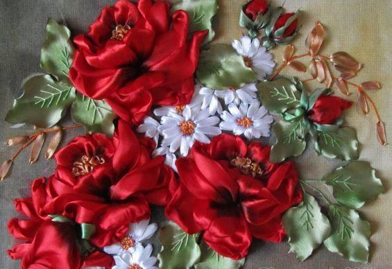Трапунто: оригинальная объемная вышивка своими руками (фото)