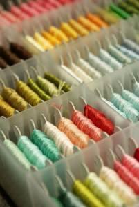 Органайзер для мулине: разные варианты для хранения нитей