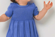 Вяжем платье для девочки по фото и видео урокам