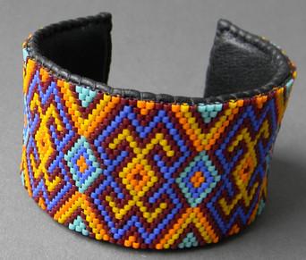 Мозаичное плетение бисером в мастер-классах