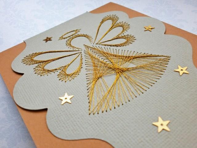 Вышивка на бумаге в пошаговом мастер-классе для начинающих и схемы для работы