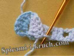 Узор спицами чешуйки в вязании по схеме с описанием в фото мастер-классе