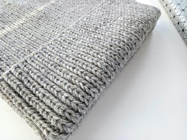Вязание мужского шарфа спицами по схеме и видео уроку