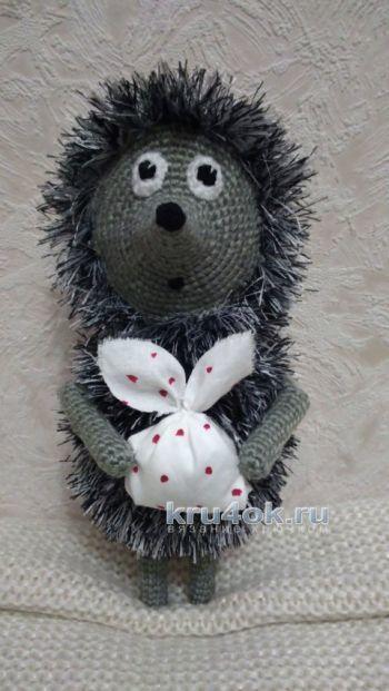 Вязание узора ежики спицами по схеме с пошаговым описанием и видео МК