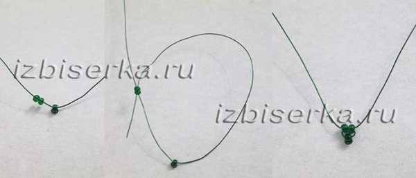 Плетение рябины из бисера по фото и видео уроку