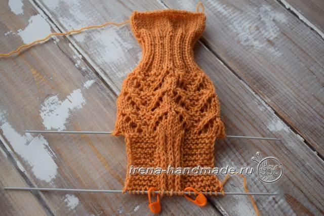 Вяжем ажурные женские носочки по схеме с описанием
