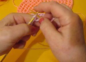 Вязание узора сетка спицами по схеме и виды сетчатых узоров в фото МК